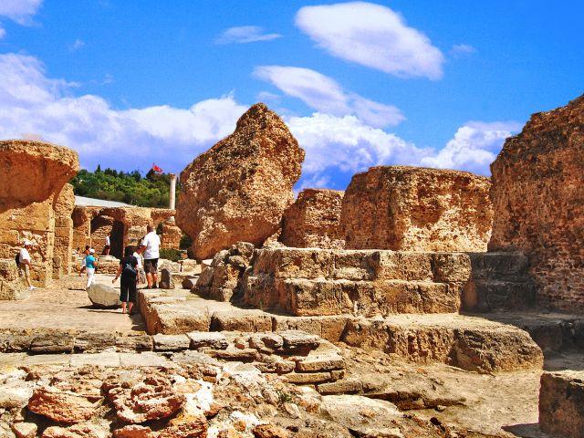Ruines de la ville de Carthage