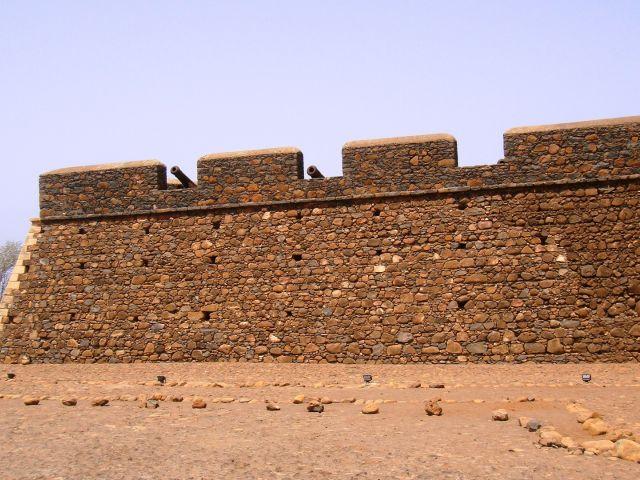Ruines de la forteresse