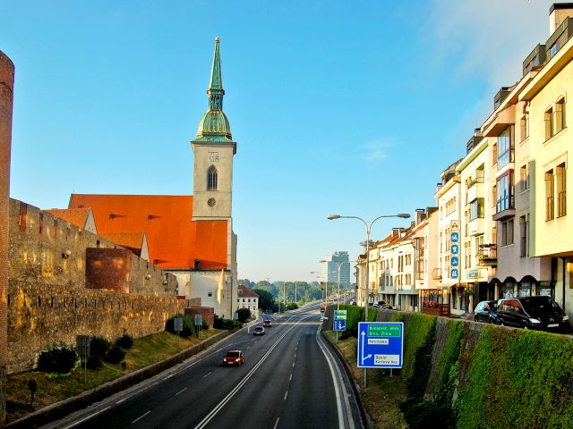 Cathédrale Saint-Martin de Bratislava