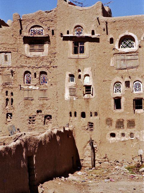 Habitation en pisé, Amran