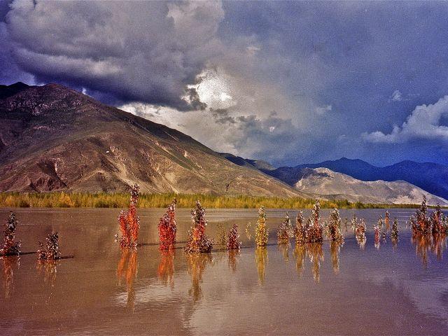 Ballet de nuages au-dessus du Brahmapoutre