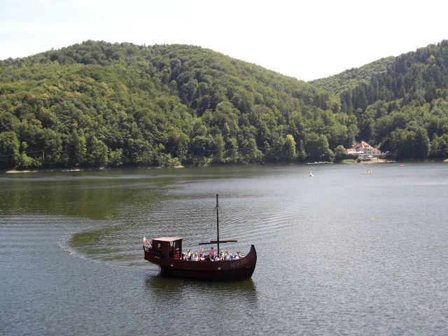 Lac Bystrzyckie en Zagórze Śląskie