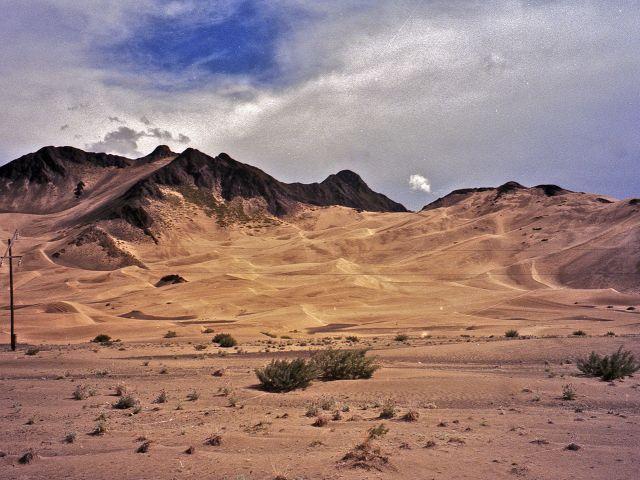Zone désertique