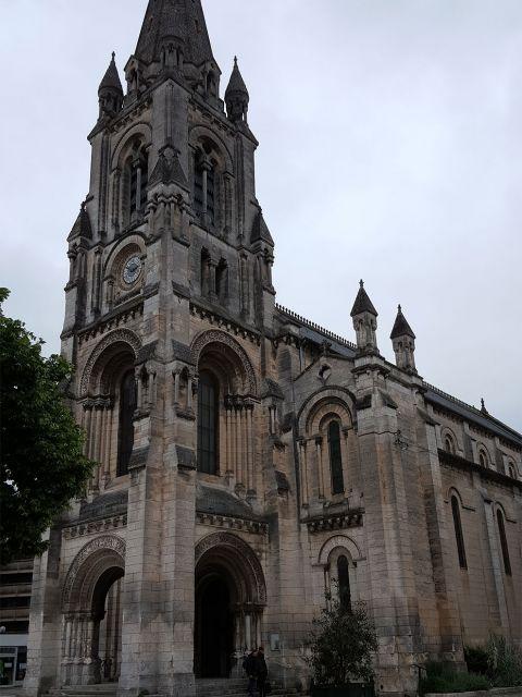 Angoulême church of Saint-Martial