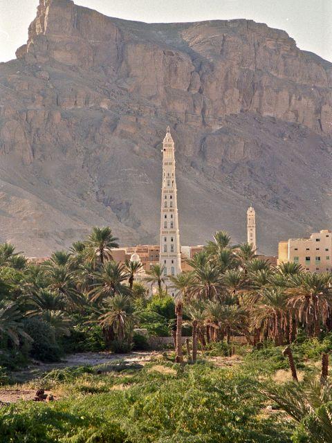 Minaret de la mosquée Al Muhdhar
