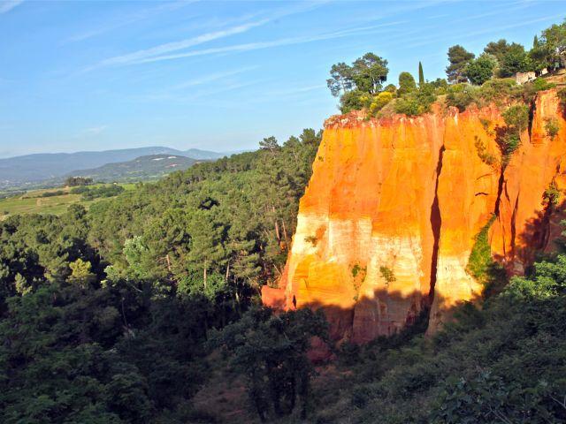 Falaises d'ocre de Roussillon