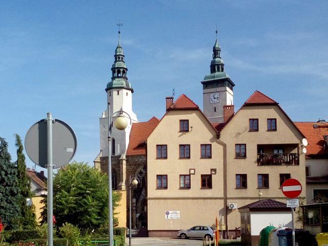 Vieille ville de Złotoryja