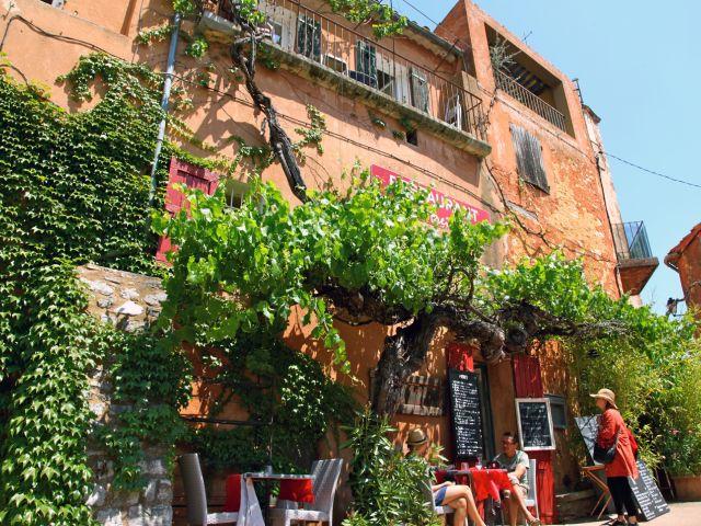 Restaurant à Roussillon
