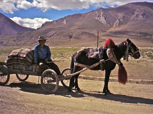 Traditional transportation, Tibet