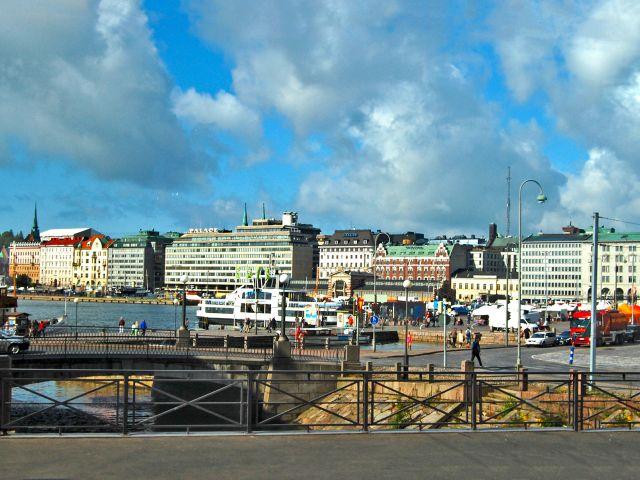 Vue d'Helsinki