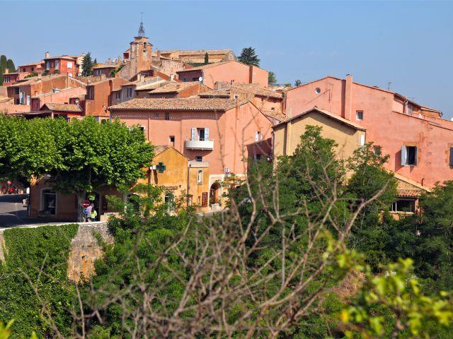 Vue de Roussillon
