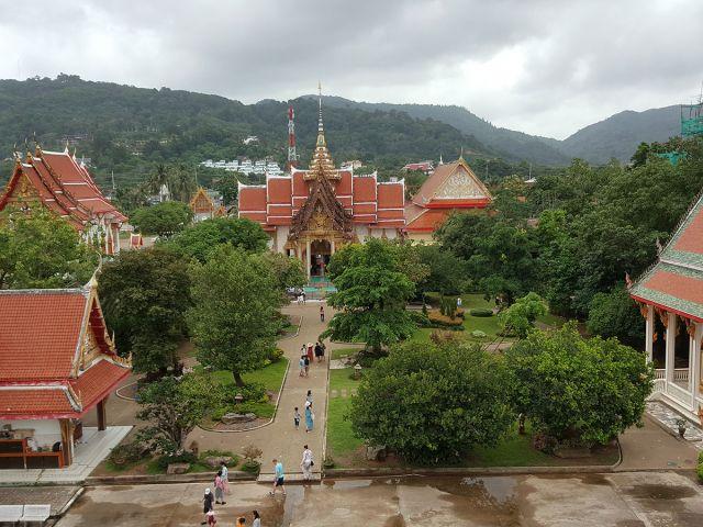 Vue du Wat Chalong