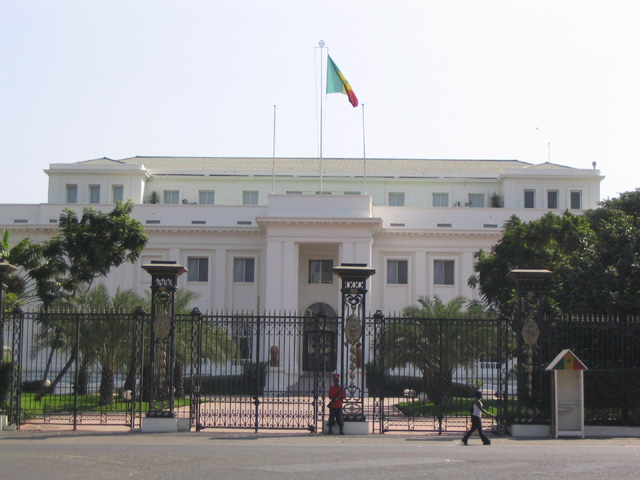 Presidential Palace in Dakar
