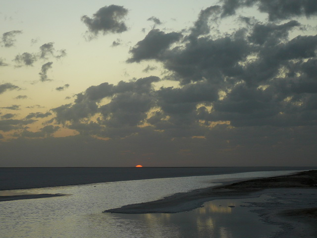 Sunrise over Chott El Jerid