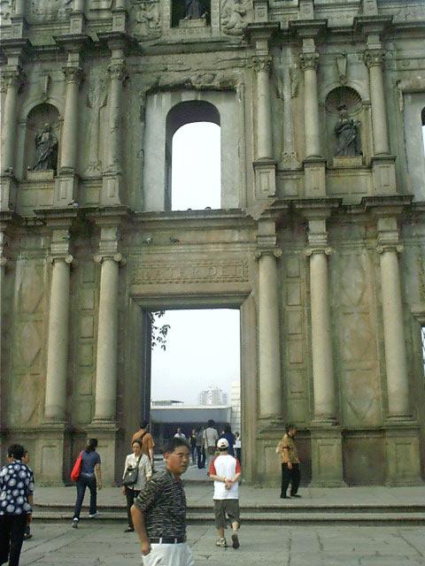 Ruines de Saint-Paul