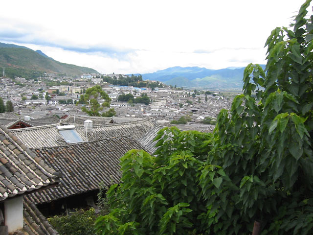 View of Lijiang
