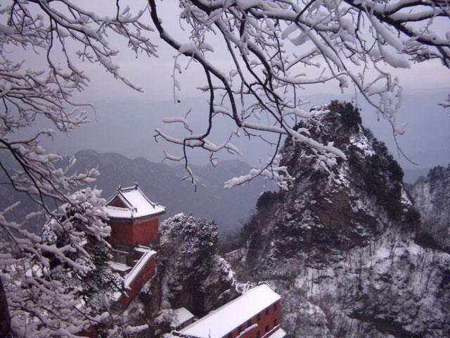 Wudang Shan temple