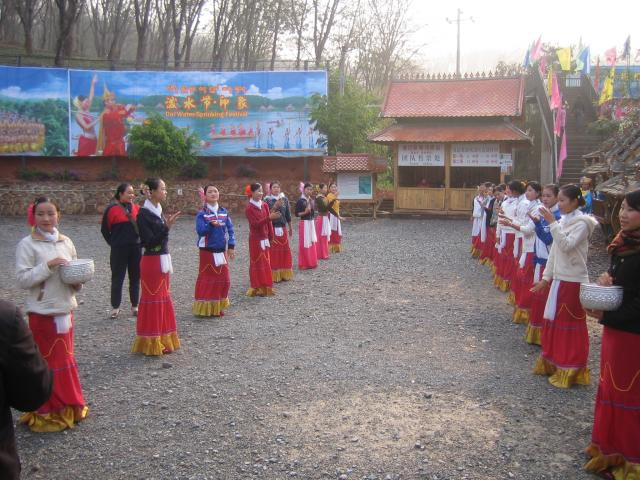 Dai Water Sprinking Festival