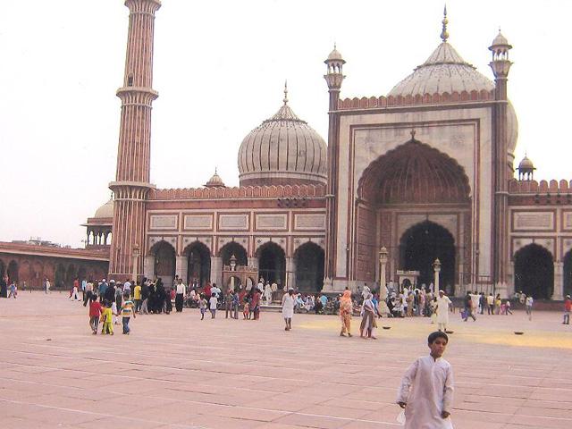 Category New Delhi Jama Masjid
