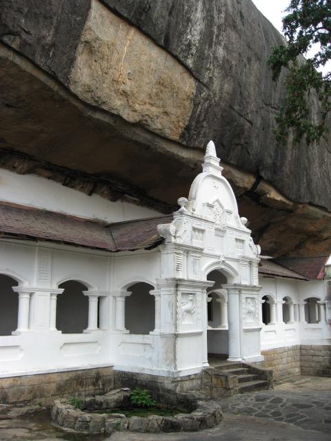 Temple grotte