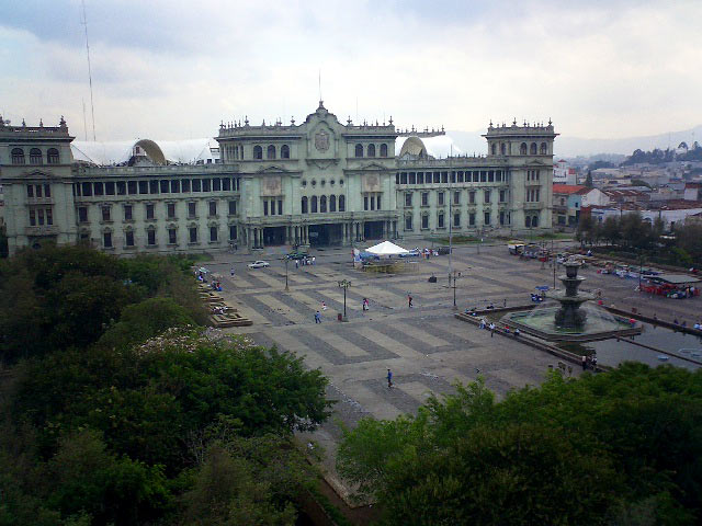 Guate downtown