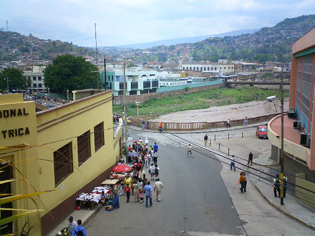 Tegucigalpa view