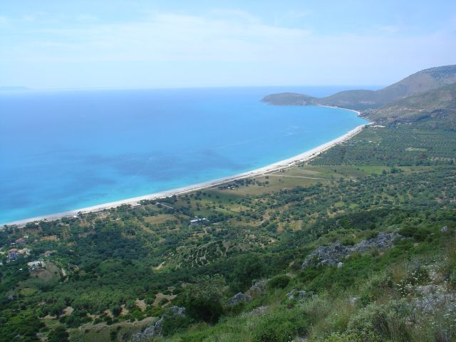 Beach near Himara