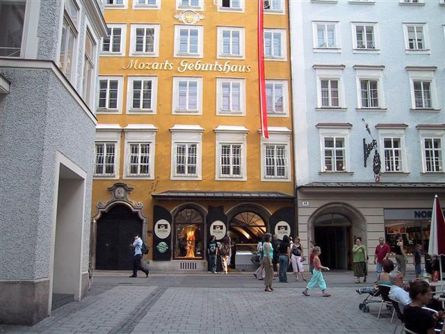 Centre historique de Salzbourg