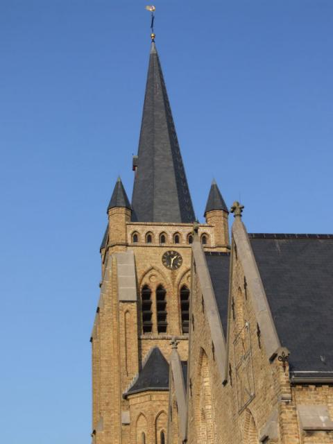Category De Panne St. Peter church