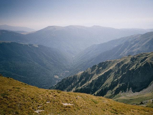 Massif montagneux Rila