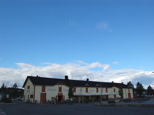 Restaurant near harbour