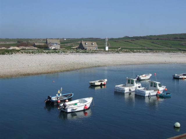 Goury harbour
