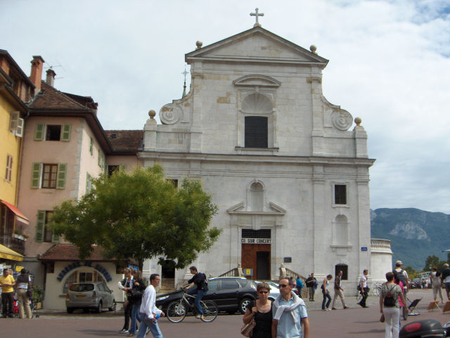 Category Annecy Saint-Francois church