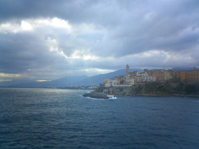 View of Bastia