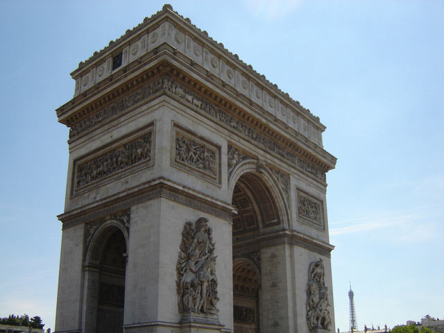 Category Paris Arc de Triomphe