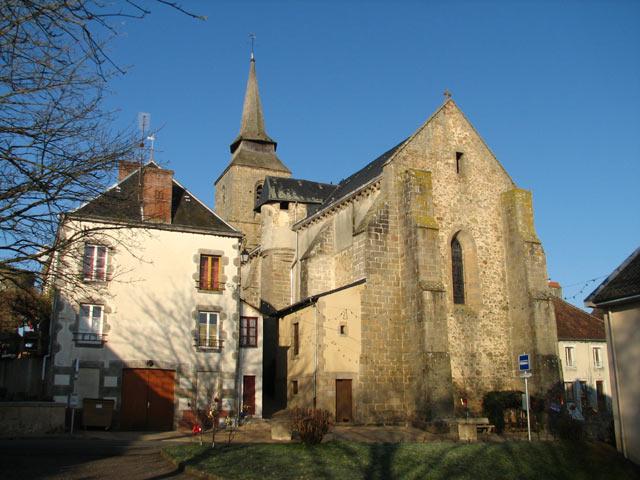 Category Arnac la Poste Saint Martial church