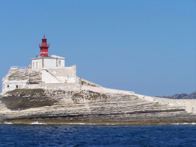 Lavezzi islands lighthouse
