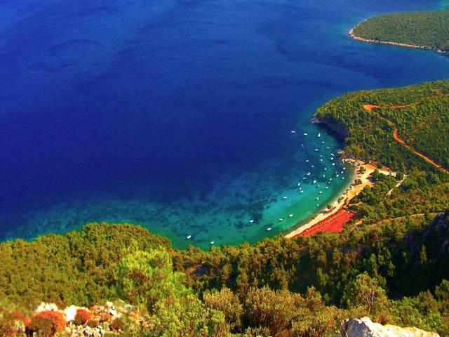 Samos coast