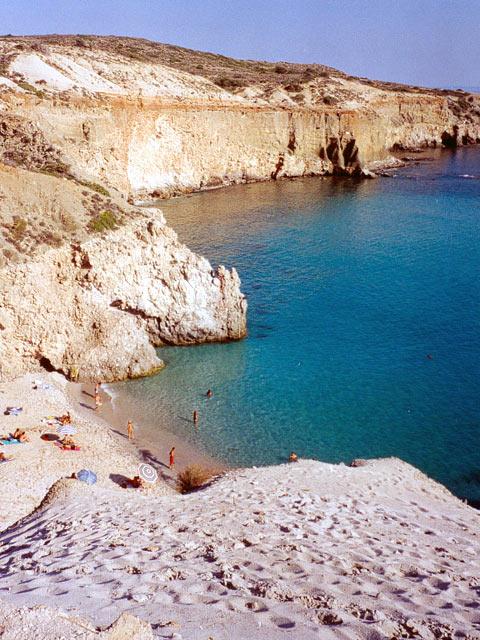 Beach in Milos