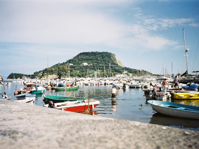 Bacoli harbor