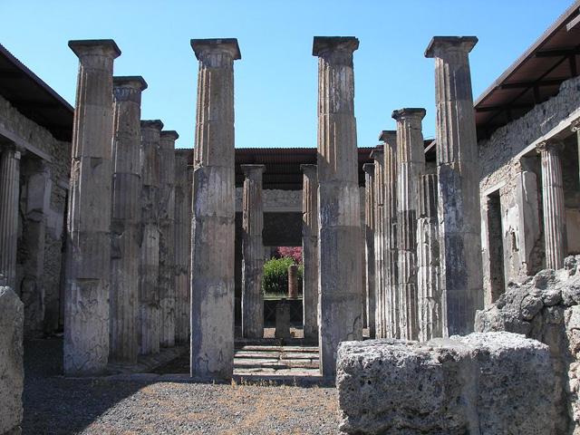 Pompéi, Zones archéologiques