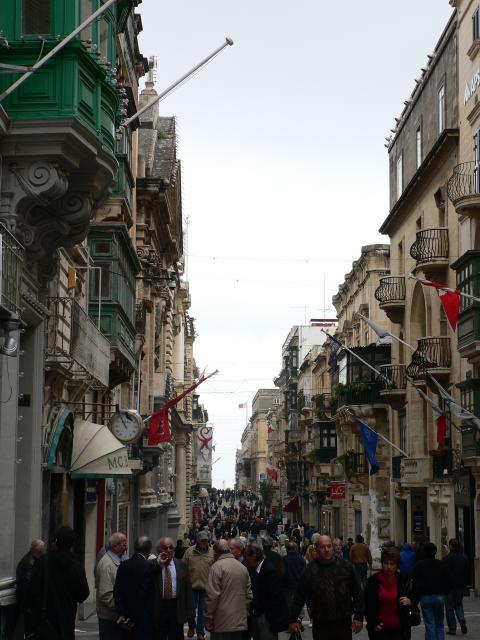 Pedestrianised street