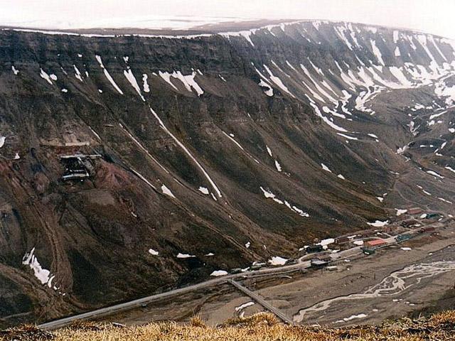 Nybyen at Svalbard
