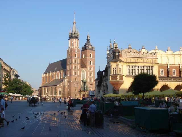 Basilique Sainte-Marie de Cracovie