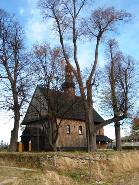 Wooden church of St-Croix