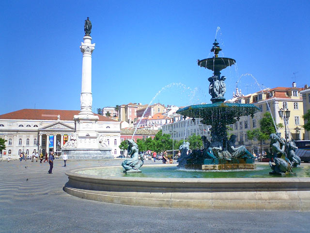 Category Lisbon Rossio Square