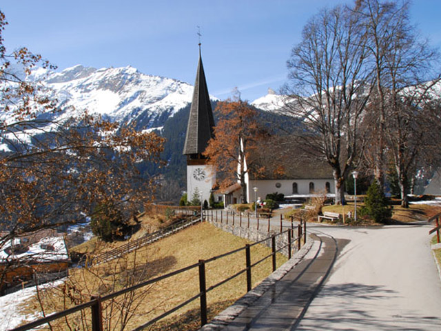 Church in Wengen