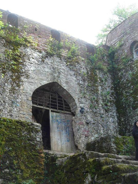 Rudkhan Castle door