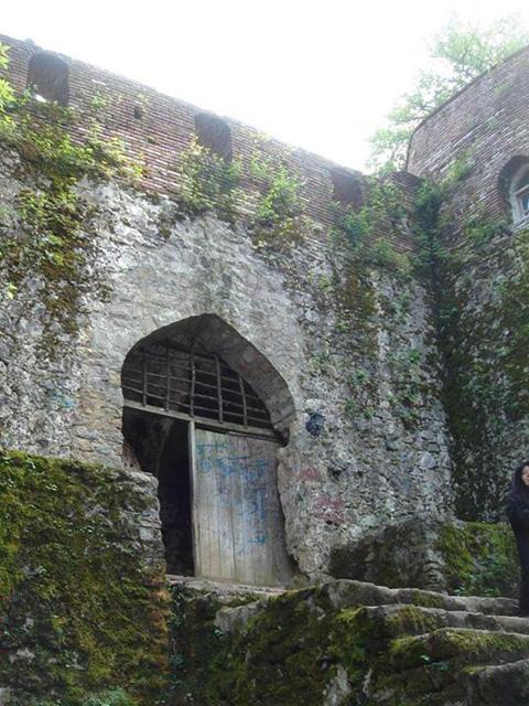Rudkhan Castle door