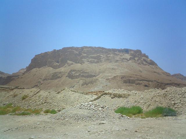 Masada plateau